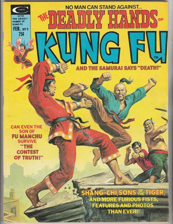 Deadly Hands of Kung Fu #9 (Feb-75) VF/NM+ High-Grade Shang-Chi, Sons of the ...