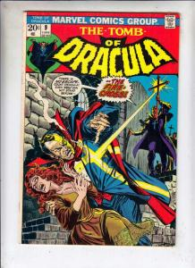 Tomb of Dracula #9 (Jun-73) FN+ Mid-High-Grade Dracula