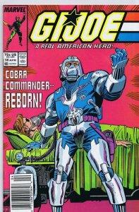 GI Joe A Real American Hero #56 ORIGINAL Vintage 1987 Marvel Comics Newsstand