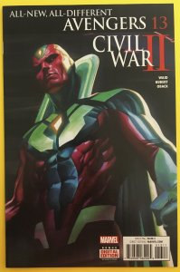 ALL-NEW ALL-DIFFERENT AVENGERS 13 MARVEL 2016