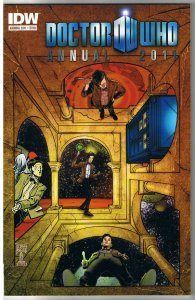 DOCTOR WHO Annual, NM, 2011, IDW, Tardis, Time Traveling, more DW in store