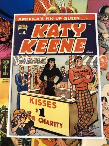 Katy Keene #4 F- 5.5 golden age ARCHIE SERIES bill woggon ANC publishing 1949