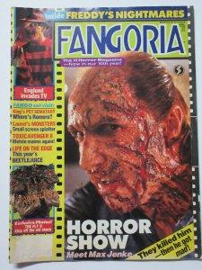 Fangoria Magazine #81 10th Anniversary Freddy's Nightmares Horror Show Toxie2!