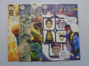 Nexus Nightmare in Blue (1997) #1-4 Set - 8.0 VF - 1997