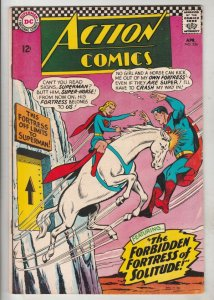 Action Comics #336 (Apr-66) VF/NM High-Grade Superman, Supergirl