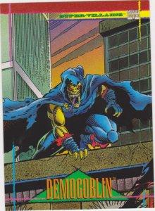 1993 Marvel Universe #54 Demogoblin