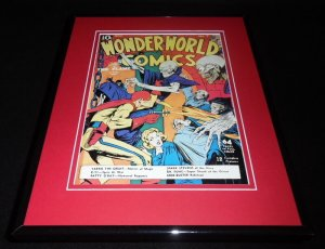 Wonder World Comics #7 Framed Cover Photo Poster 11x14 Official RP