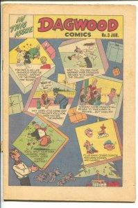 Dagwood #3 1951-Harvey-Chic Young-Blondie-Popeye-Little Iodine-Capt Tootsie-R...