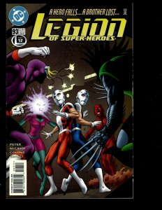 11 Comics Legion Of Super-Heroes #93 94 95 96 97 98 Secret Files #1 +MORE GK33