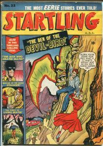Startling #22 1951-Atlas-rare Canadian issue-pre-code horror-Wolverton-FN MINUS