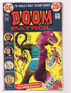 Doom Patrol #122 FN/VF DC Comics Comic Book DE28