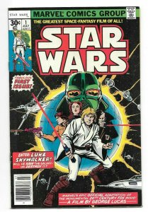 Star Wars #1 VF- Key Issue Series Begins 1st Print Marvel Bronze Age Comic 1977