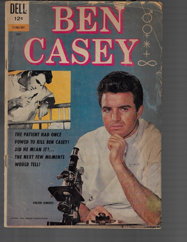 Ben Casey #1 (Dell, 1962) KEY 1st Issue