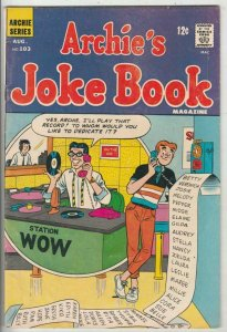 Archie's Joke Book # 103 Strict FN/VF Mid-High-Grade Cover Disc Jokey Li'l Jinx