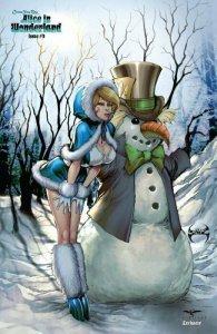 Grimm Fairy Tales :ALICE IN WONDERLAND #3 ZENESCOPE EXCLUSIVE COVER NM.