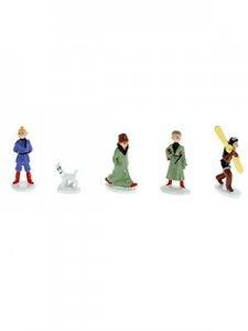 Figura PLOMO Tintin:  Mini serie soviets color 5 personajes  (ref 46905), num...