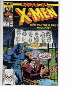 Marvel Comics What if? #9 What If the X-Men Died on their First Mission?