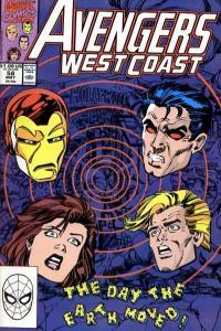 Avengers West Coast #58, VF+ (Stock photo)
