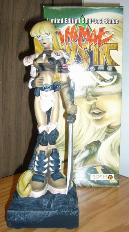 Animal Mystic Statue CIB complete in box DARK ONE sirius bowen rare only 1,000!