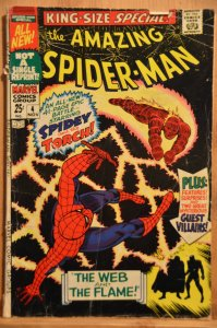 The Amazing Spider-Man Annual #4 (1967) G+