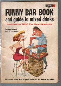 Funny Bar Book #283 1955-Virgil I Pratch-Ted Shane text-VG-