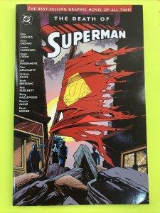 Superman: Death of Superman Trade Paperback DC Comic Book NM/M Condition