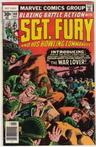 Sgt. Fury and His Howling Commandos #140 (May-77) FN Mid-Grade Sgt. Fury, How...
