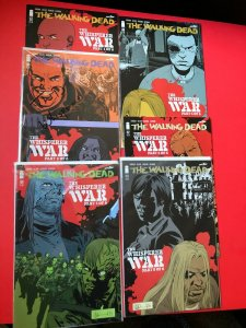 THE WALKING DEAD: THE WHISPERER WAR V1 #'s 1-6 IMAGE / NM CONDITION