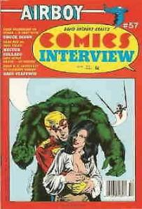 Comics Interview #57 FN; Fictioneer | save on shipping - details inside