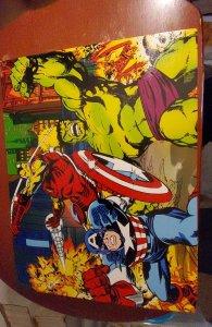 Marvel Avengers canvas will art