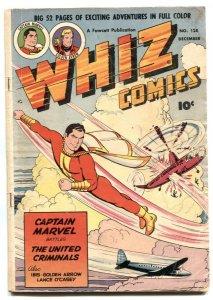 Whiz Comics #128 1950-Captain Marvel- Golden Arrow- VG