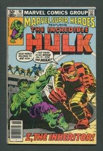 Marvel Super Heroes #98 (HULK)  /  6.0 FN  /  June 1981