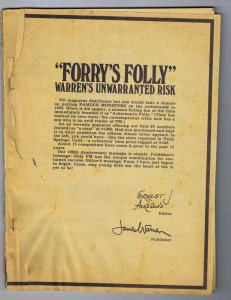 ORIGINAL Vintage 1973 Famous Monsters of Filmland Magazine #100 Coverless