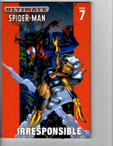 Ultimate Spider-Man Irresponsible Marvel Graphic Novel TPB SC 4th Print J139