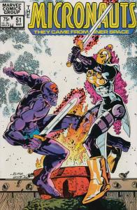 Micronauts (Vol. 1) #51 VF/NM; Marvel | save on shipping - details inside