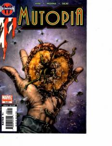 Lot Of 2 Marvel Comics Mutopia #1 and #5 Iron Man Thor Captain  JB4