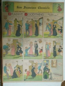 Granny Goodthing Sunday Page by Follett  from 12/28/1909 Full Page Size!