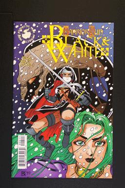 Warrior Nun Areala: Black and White #4 August 1997. Antarcti