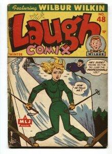 Laugh Comix #48-Headlight cover-Last issue-RARE Golden-Age comic book