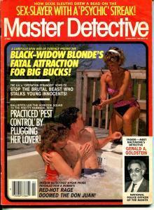 Master Detective 2/1989-TD Pub.-spicy gun moll-Black Widow Blonder-VG