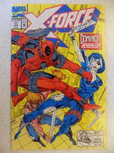 X-Force #11 1ST DOMINO HOT BOOK(1993)