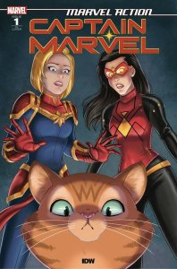 MARVEL ACTION CAPTAIN MARVEL (2019 IDW) #1 VARIANT 1:10 GARCIA PRESALE-08/14