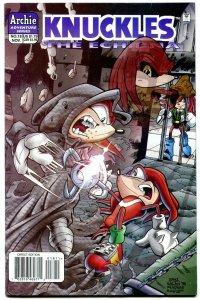 Knuckles #18 1998- Archie Comics- Sega- Echidna Sonic VF