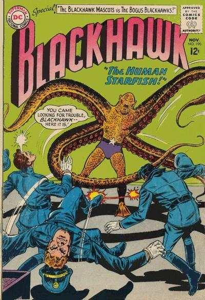 Blackhawk (1944 series) #190, VG- (Stock photo)