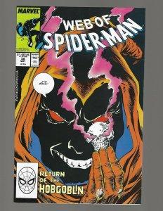 Web Of Spiderman #38 Return Of Hobgoblin