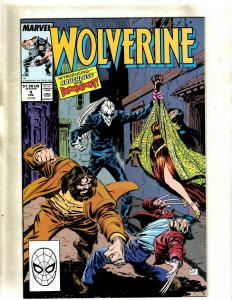 Lot of 12 Wolverine Marvel Comic Books #4 5 15 16 17 18 19 20 21 22 23 25 HY7