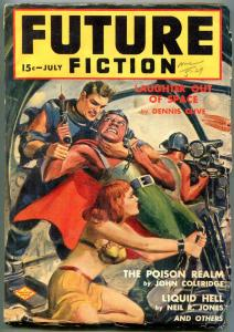 Future Fiction Pulp #3 July 1940- Asimov- John Coleridge VG+