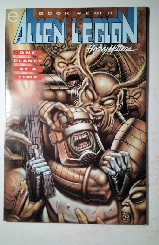 Alien Legion: One Planet at a Time #2 (1993) Marvel Comic Book J757