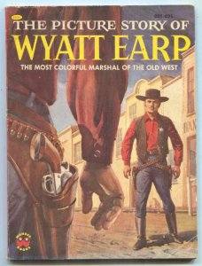 Picture Story of Wyatt Earp 1956- Wonder Books #2531