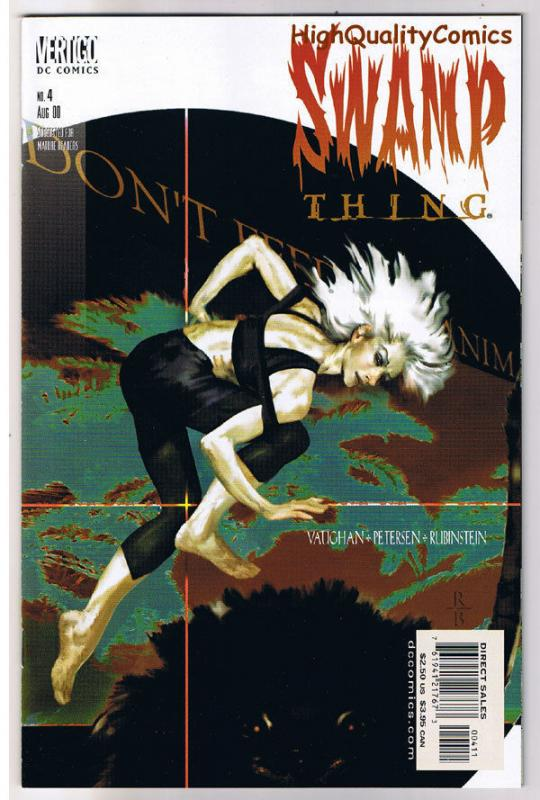 SWAMP THING #4, NM, Vertigo, Joe Rubinstein, Killing, 2000, more in store